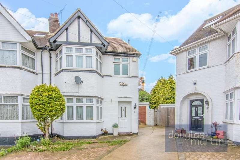 4 Bedrooms Semi Detached House for sale in Seelig Avenue, London, NW9