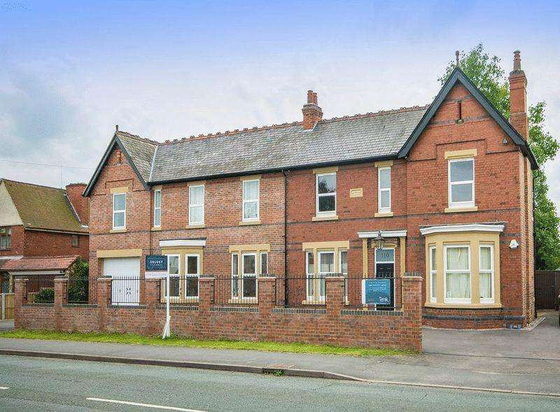 6 Bedrooms Detached House for sale in MAYFIELD HOUSE, STATION ROAD, MICKLEOVER