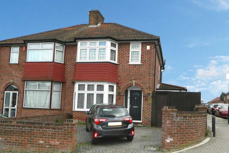 3 Bedrooms Semi Detached House for sale in Springfield Mount, London NW9
