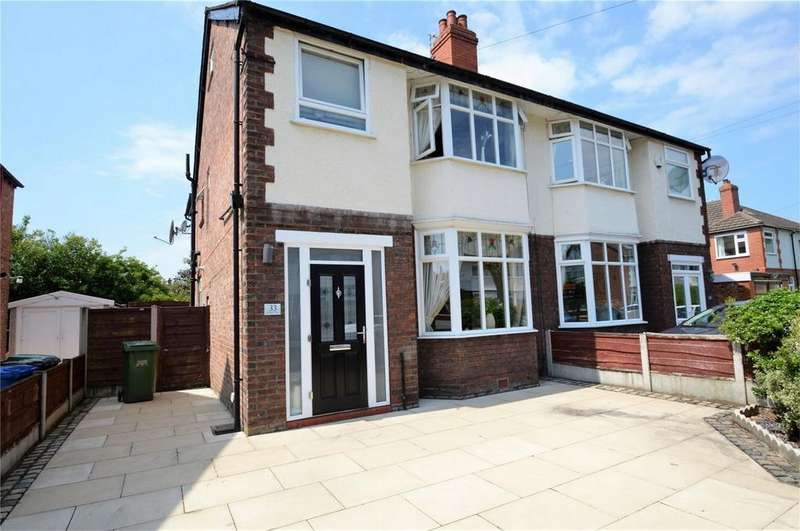 3 Bedrooms Semi Detached House for sale in St Marys Road, SALE, Cheshire
