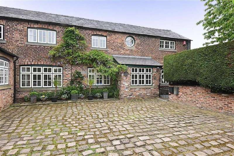4 Bedrooms Barn Conversion Character Property for sale in Moss Lane, Mobberley