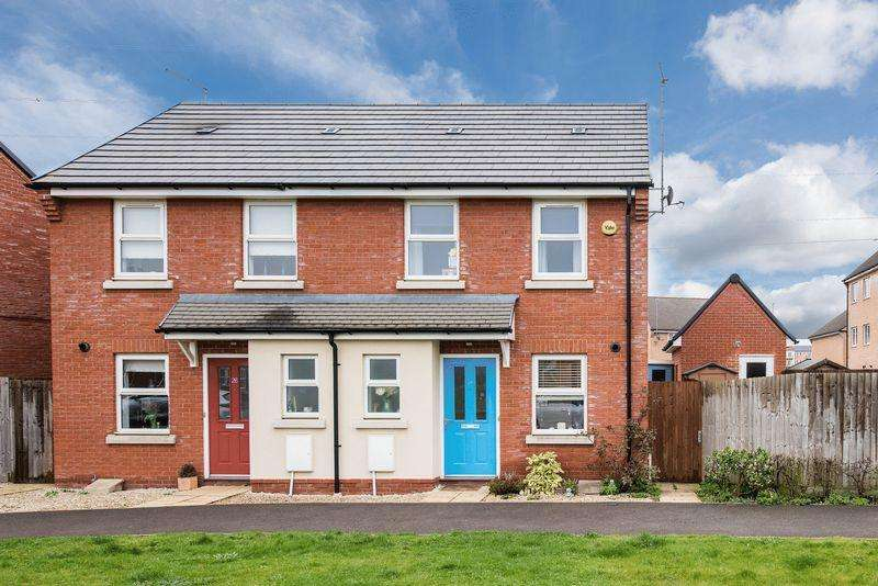 2 Bedrooms Semi Detached House for sale in Paradise Orchard, Aylesbury