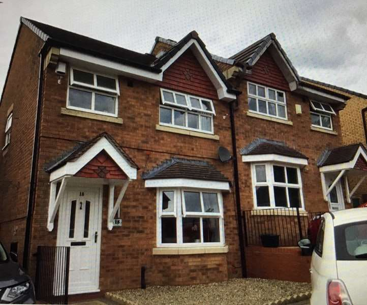 3 Bedrooms Semi Detached House for sale in Rowan Grove, Burnley, Lancashire, BB10