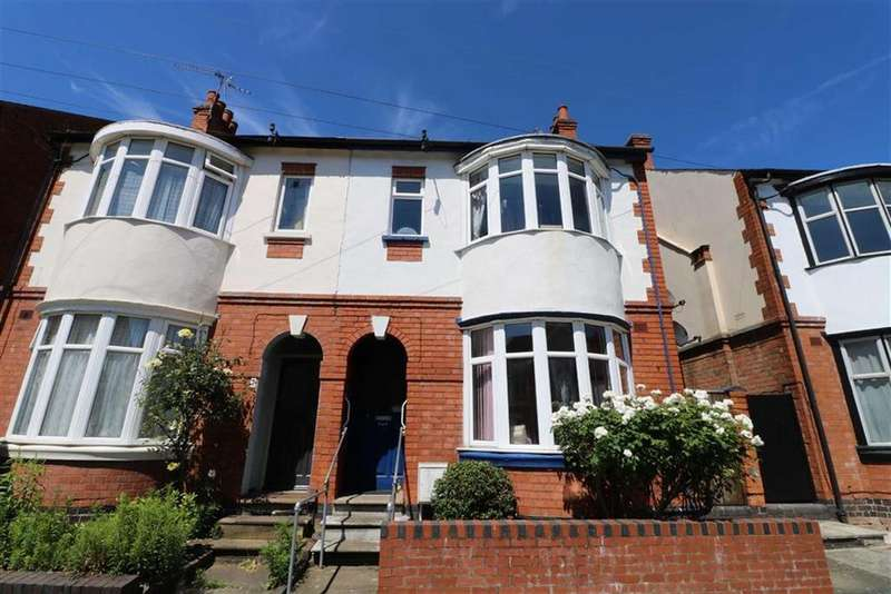 3 Bedrooms Semi Detached House for sale in Greenhill Road, Clarendon Park, Leicester
