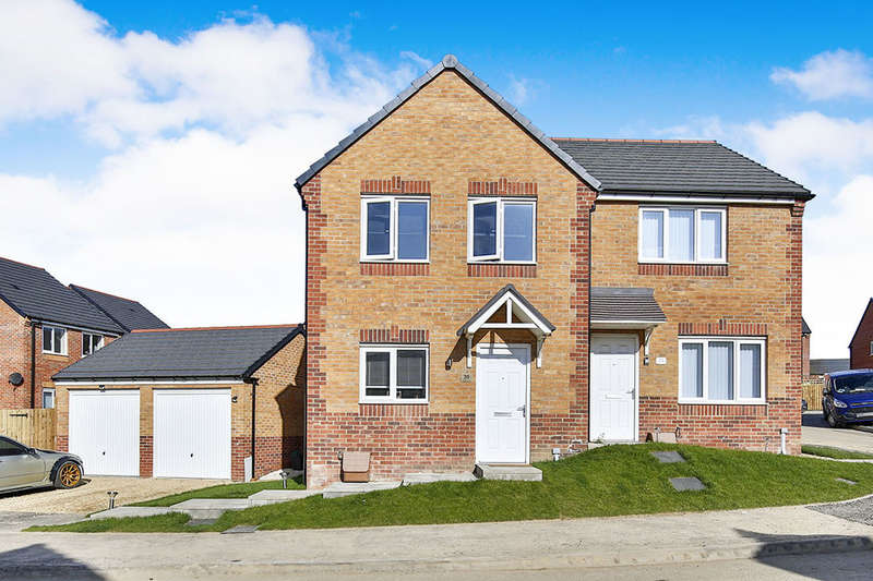 3 Bedrooms Semi Detached House for sale in Gerard Close, New Kyo, Stanley, DH9