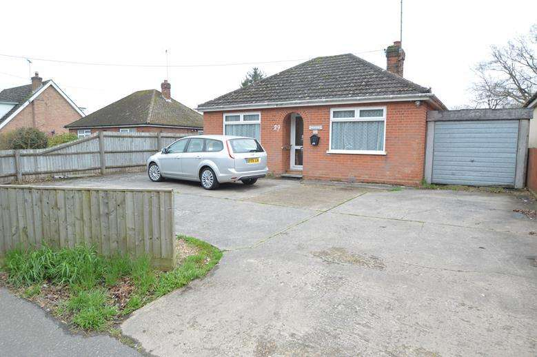 2 Bedrooms Detached Bungalow for sale in Braintree Road, Gosfield, Halstead CO9