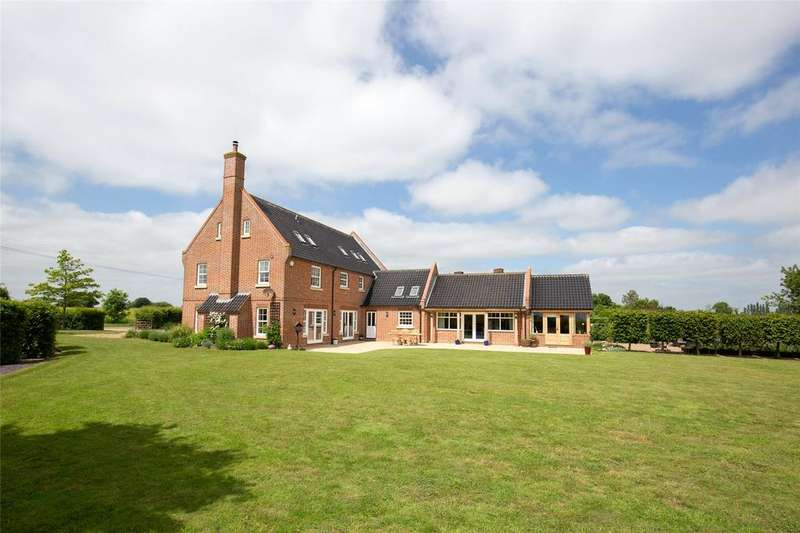 5 Bedrooms Detached House for sale in North Green Road, Pulham St. Mary, Diss, Norfolk, IP21