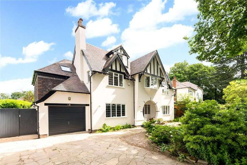 5 Bedrooms Detached House for sale in Pownall Road, Wilmslow, Cheshire, SK9