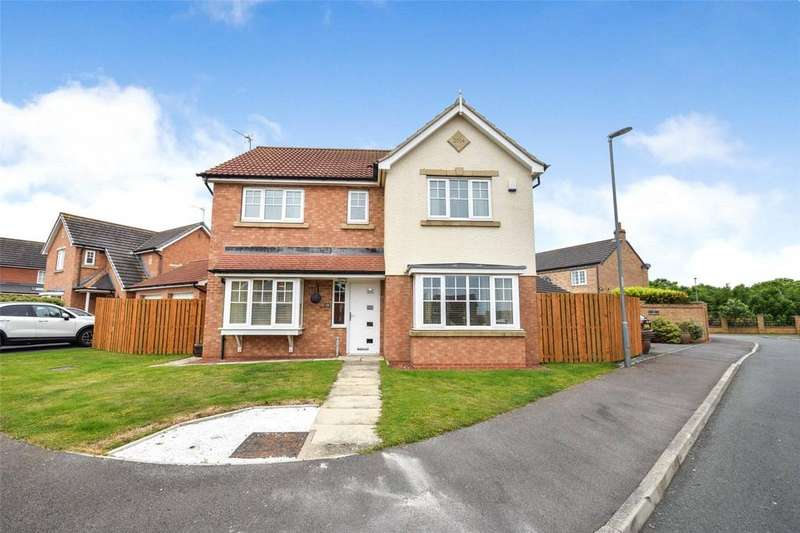 4 Bedrooms Detached House for sale in Weybourne Lea, Seaham, County Durham, SR7