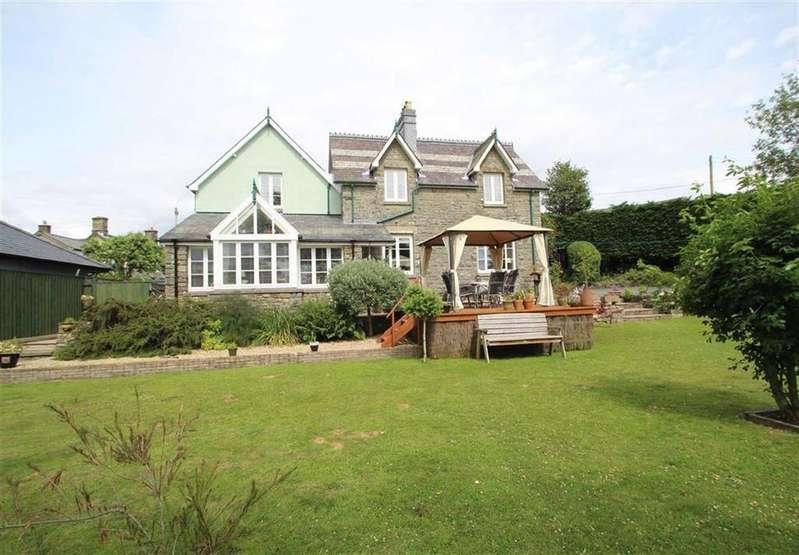 5 Bedrooms Detached House for sale in Newbridge On Wye, NEWBRIDGE ON WYE, Llandrindod Wells, Powys
