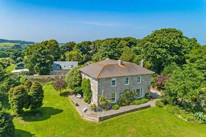 6 Bedrooms Detached House for sale in Lelant, St Ives, Cornwall, TR26