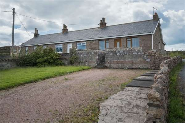 3 Bedrooms Semi Detached House for sale in Boddam, Boddam, Peterhead, Aberdeenshire
