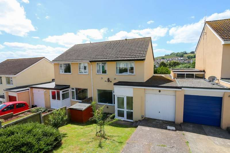3 Bedrooms Semi Detached House for sale in Grenville Avenue, Teignmouth
