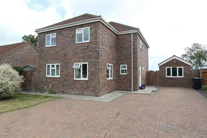 4 Bedrooms Detached House for sale in Chalk Road, Walpole St. Peter, Norfolk , Cambridgeshire, PE14 7PN