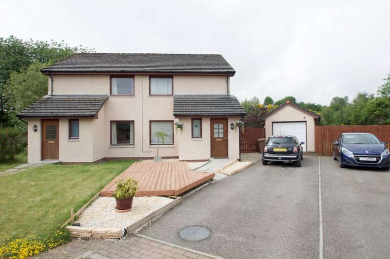 2 Bedrooms Semi Detached House for sale in Fairways Avenue, Muir of Ord, IV6