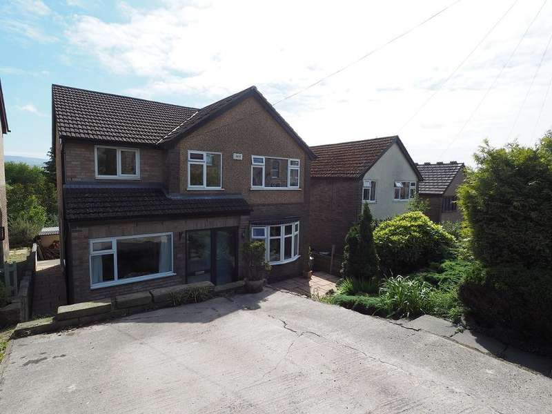 4 Bedrooms Detached House for sale in Mellor Road, New Mills, High Peak, Derbyshire, SK22 4DX