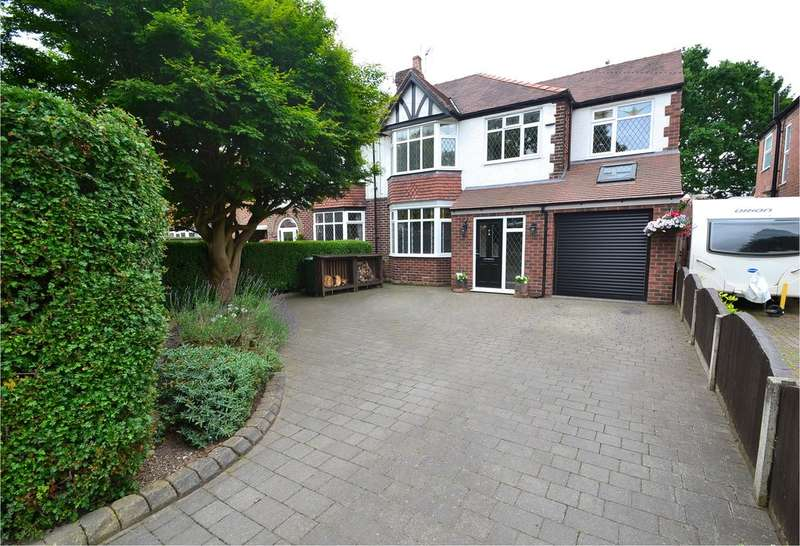 4 Bedrooms Semi Detached House for sale in Dean Lane, Hazel Grove, Stockport SK7 6EH