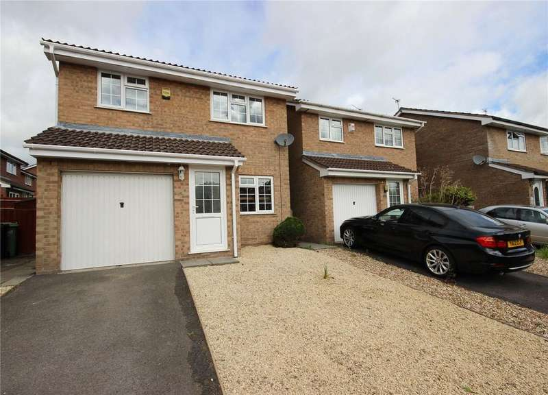 3 Bedrooms Detached House for sale in Berkeleys Mead, Bradley Stoke, Bristol, BS32