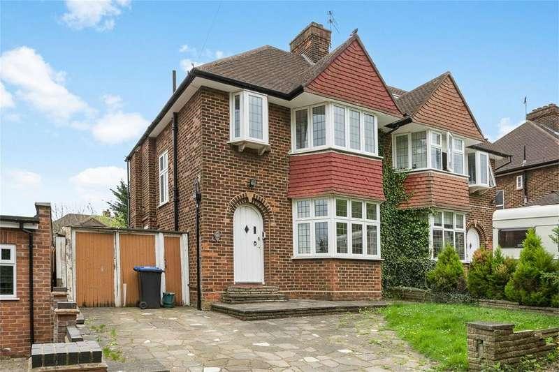 3 Bedrooms Semi Detached House for sale in Salmon Street, Kingsbury, London