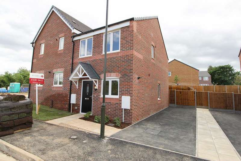 2 Bedrooms Semi Detached House for sale in 10 Carlyle Road (Plot 3), Stonebroom
