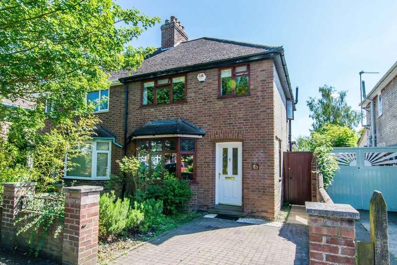 3 Bedrooms Semi Detached House for sale in Greville Road, Cambridge