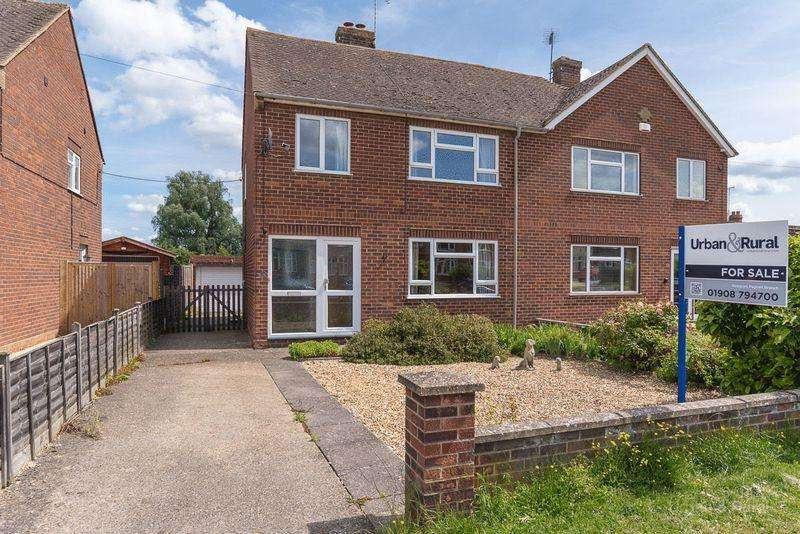 4 Bedrooms Semi Detached House for sale in Willen Road, Newport Pagnell