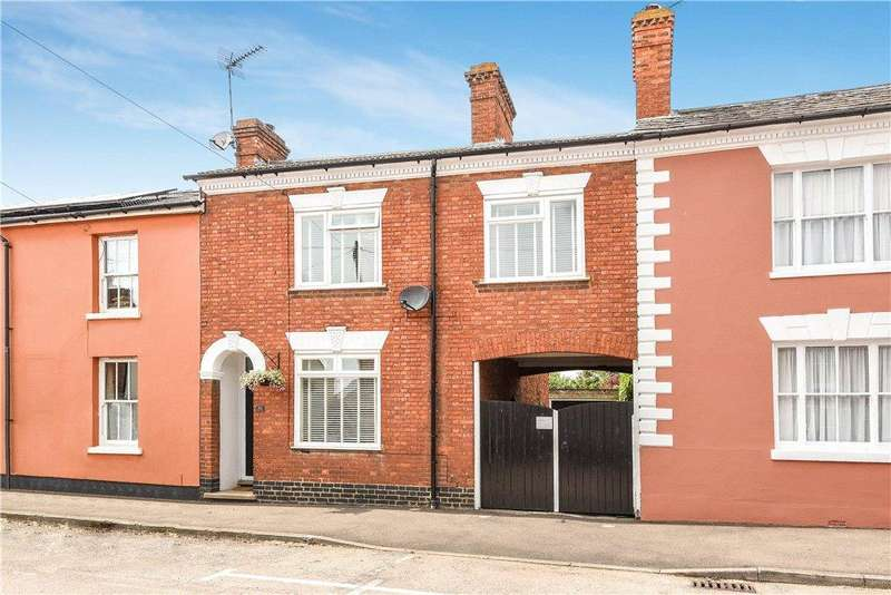 3 Bedrooms End Of Terrace House for sale in Silver Street, Newport Pagnell, Buckinghamshire