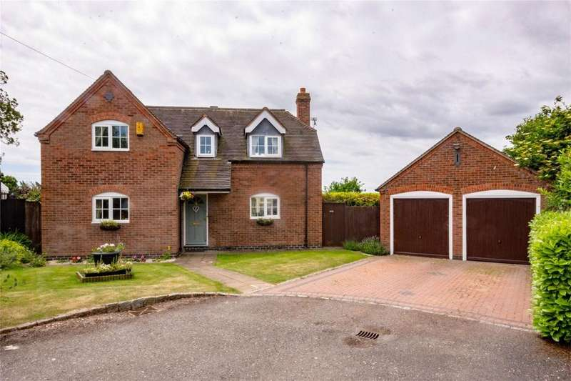 4 Bedrooms Detached House for sale in Manor Close, Harlaston, Tamworth, Staffordshire