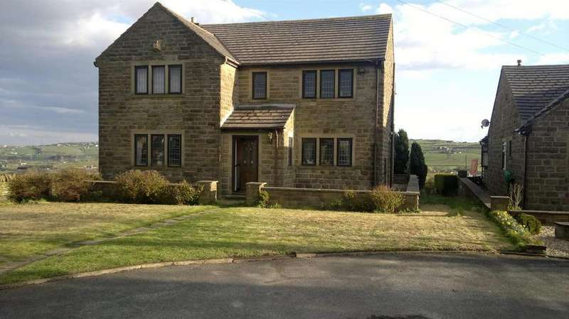 4 Bedrooms Detached House for sale in Hill Top Road, Thornton, Bradford