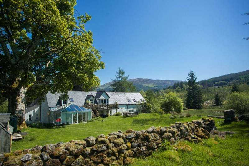 5 Bedrooms Detached Villa House for sale in Wester Lix Wildgrass Cottage, Westerlix, Killin, FK21 8RD