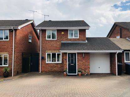 3 Bedrooms Detached House for sale in Beech Avenue, Groby, Leicester, Leicestershire