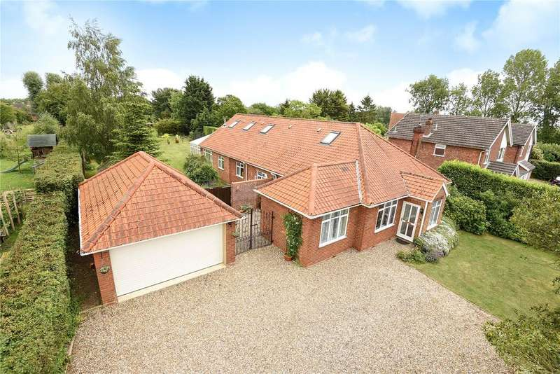 5 Bedrooms Detached House for sale in Upper Street, Witnesham, Ipswich, IP6