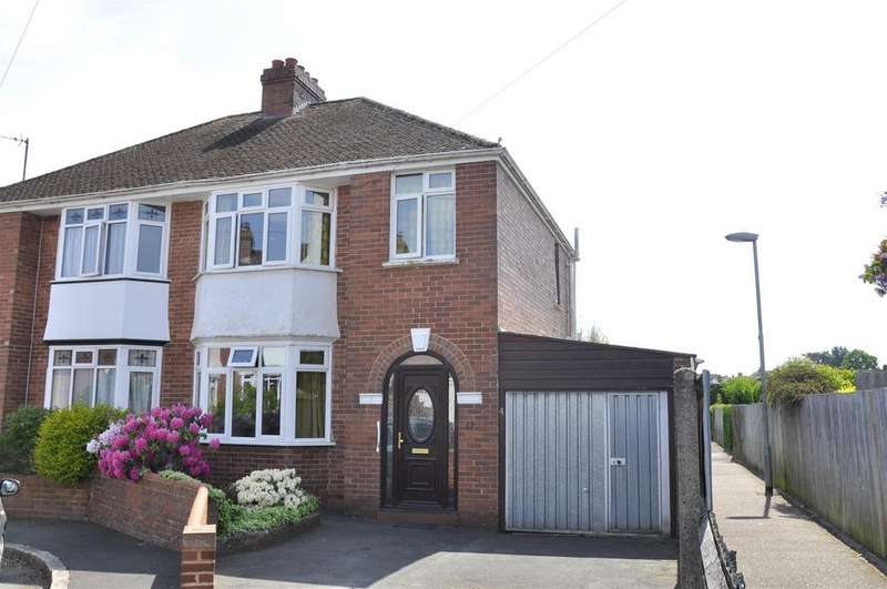 3 Bedrooms Semi Detached House for sale in Whipton, Exeter