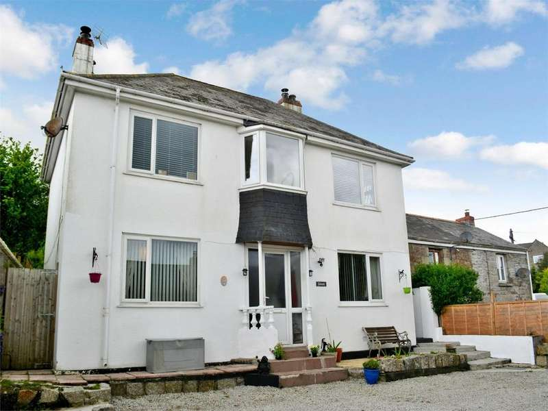 4 Bedrooms Detached House for sale in Mabe Burnthouse, PENRYN, Cornwall