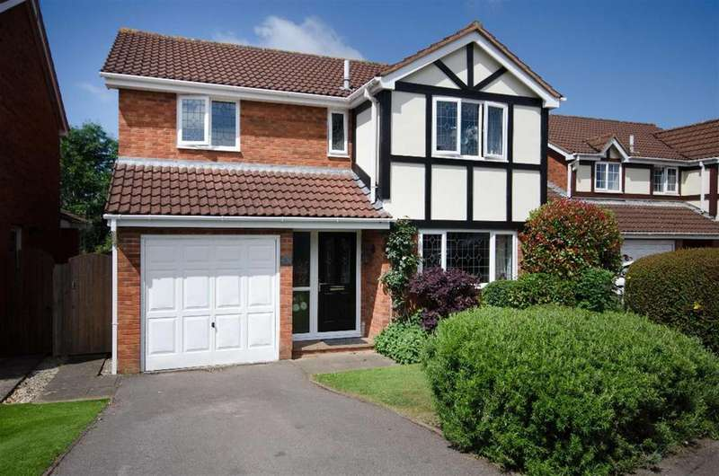 4 Bedrooms Detached House for sale in Aintree Drive, Downend, Bristol, BS16 6SY