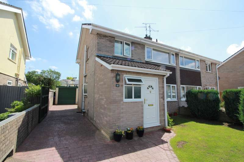 3 Bedrooms Semi Detached House for sale in Sunnyvale, Raglan, Usk, NP15