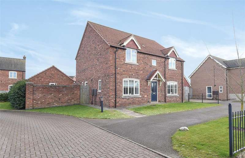 4 Bedrooms Detached House for sale in Ashton Hall Drive, Boston, PE21