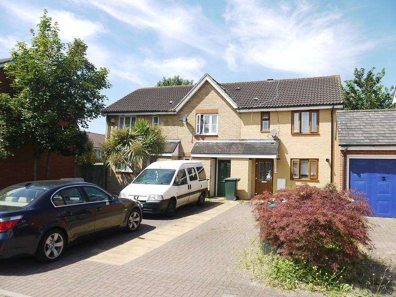 2 Bedrooms Terraced House for sale in Edmund Hurst Drive, Beckton, London, Greater London. E6 6ND