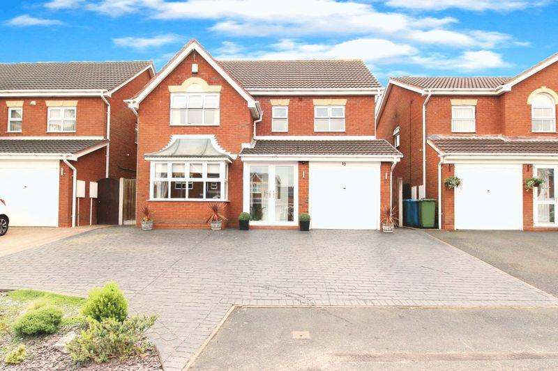 4 Bedrooms Detached House for sale in Cedar Grove, Great Wyrley, Walsall
