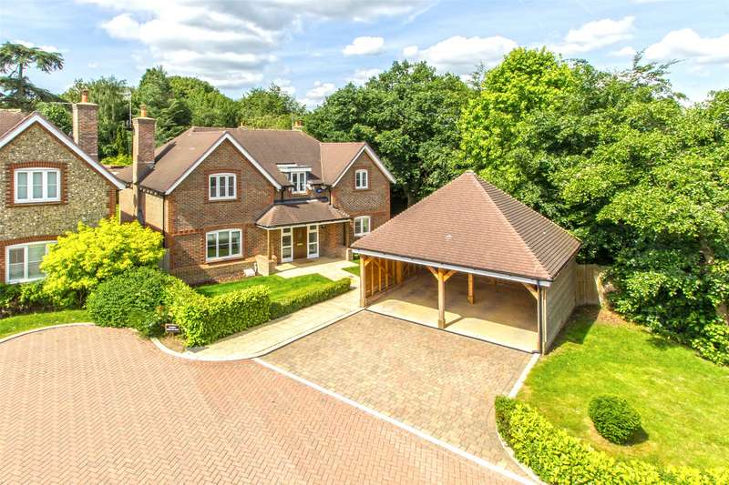 4 Bedrooms Detached House for sale in Horizon Close, Brasted, Westerham, TN16