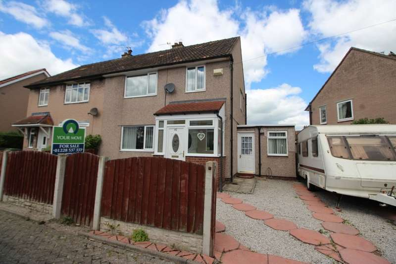 3 Bedrooms Semi Detached House for sale in Mardale Road, Carlisle, CA2