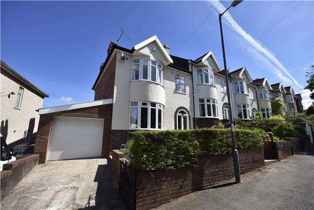 3 Bedrooms End Of Terrace House for sale in Sylvia Avenue, Lower Knowle, Bristol, BS3 5BZ