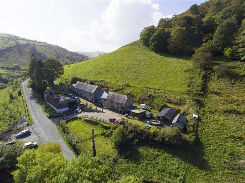 4 Bedrooms Smallholding Commercial for sale in Llanarmon Road, Glyn Ceiriog, Llangollen