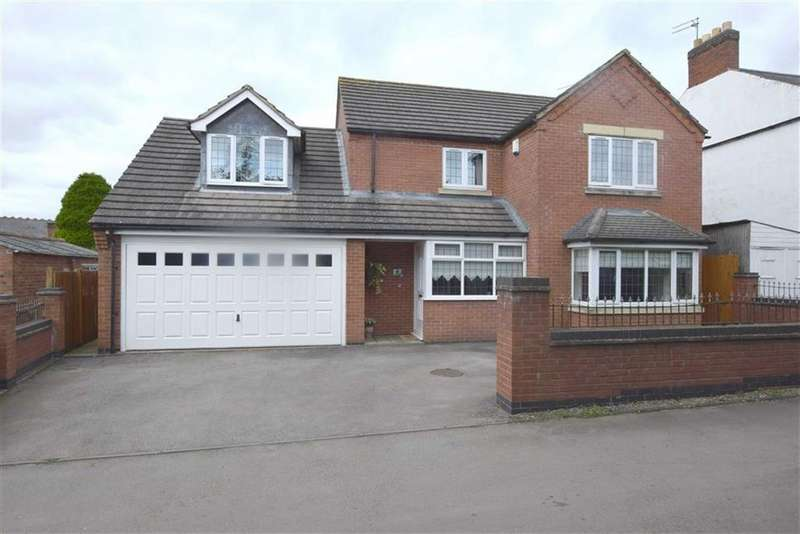 4 Bedrooms Detached House for sale in Spring Gardens, Sapcote, Leicestershire