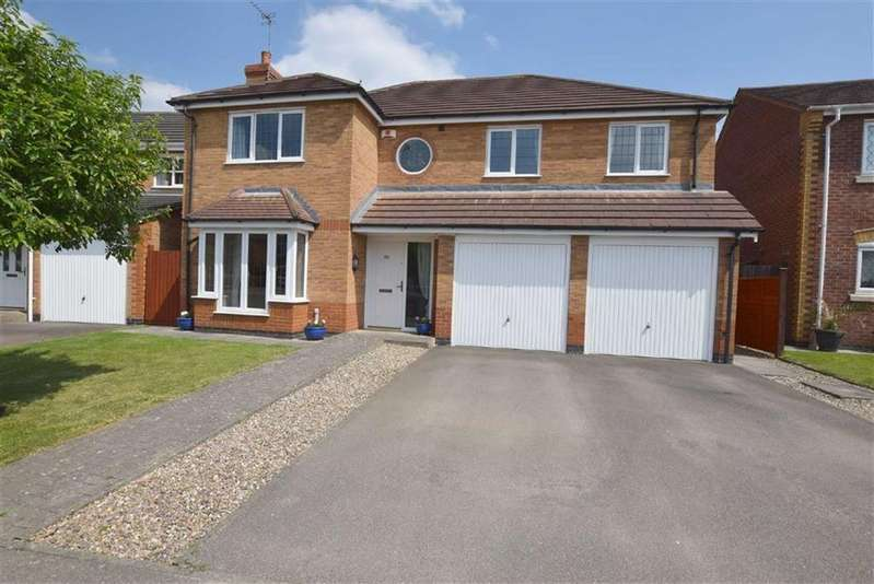 5 Bedrooms Detached House for sale in Florian Way, Hinckley, Leicestershire