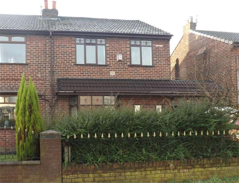 3 Bedrooms Semi Detached House for sale in Atherton Road, Hindley Green, WIGAN, Lancashire