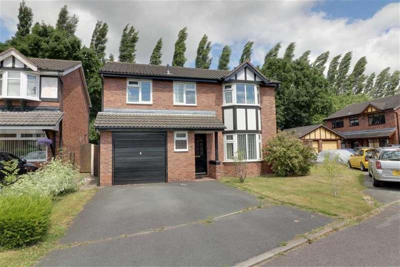 4 Bedrooms Detached House for sale in Hawthorn Close, Winsford, Cheshire