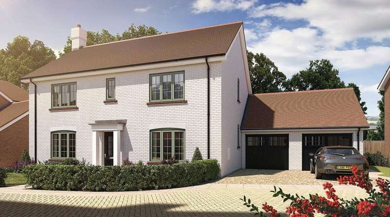 4 Bedrooms Detached House for sale in Oak Tree Close, Farnham Road, Odiham, Hampshire