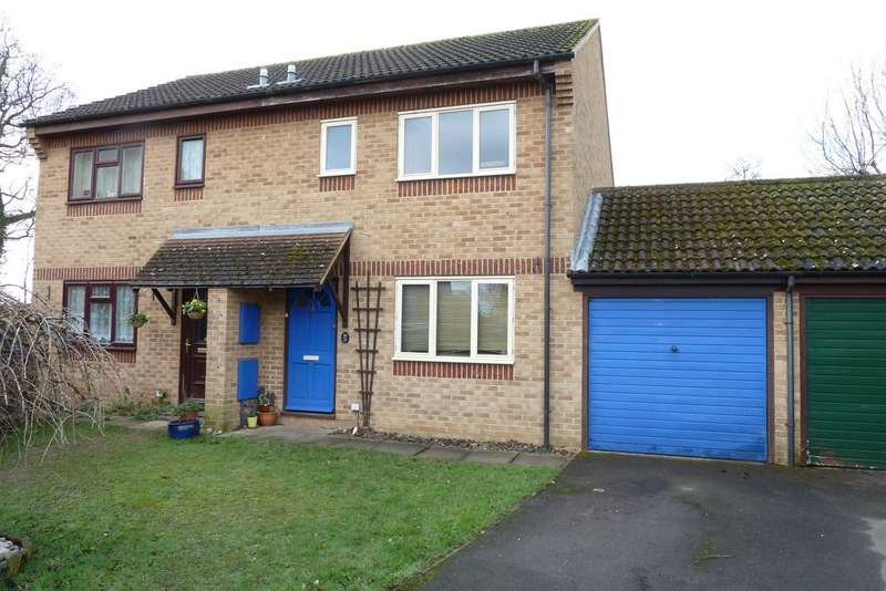 3 Bedrooms Semi Detached House for sale in Blackwater Close, Spencers Wood, Reading, RG7 1DT