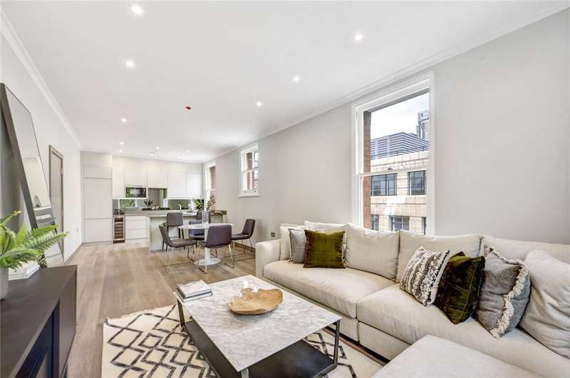 2 Bedrooms Apartment Flat for sale in Halsey House, Red Lion Square, London, WC1R